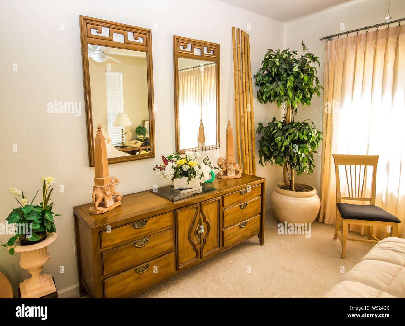 Bamboo Curtains Stockfotos & Bamboo Curtains Bilder - Alamy