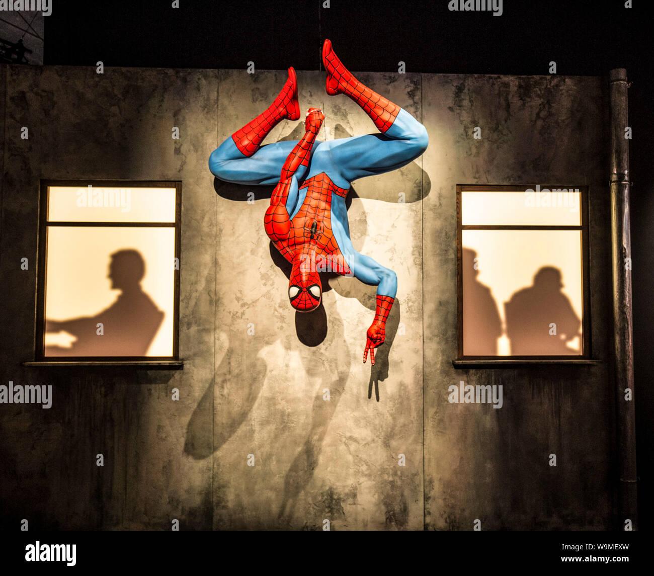MARVEL: Universum von Superhelden, MUSEUM DER POPKULTUR, Seattle Stockfoto