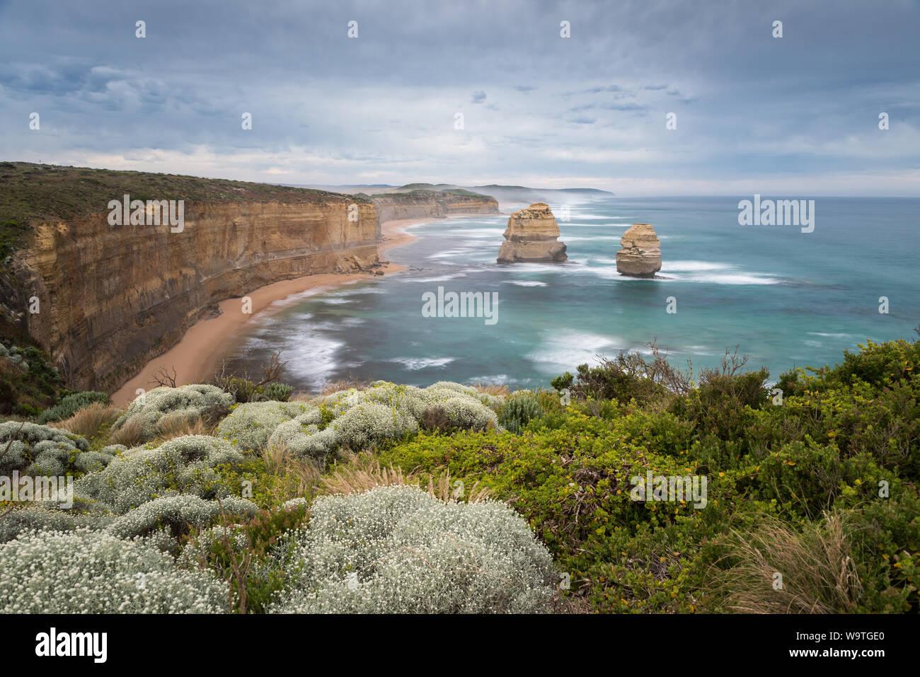 Zwölf Apostel Marine Nationalpark, Victoria, Australien Stockfoto