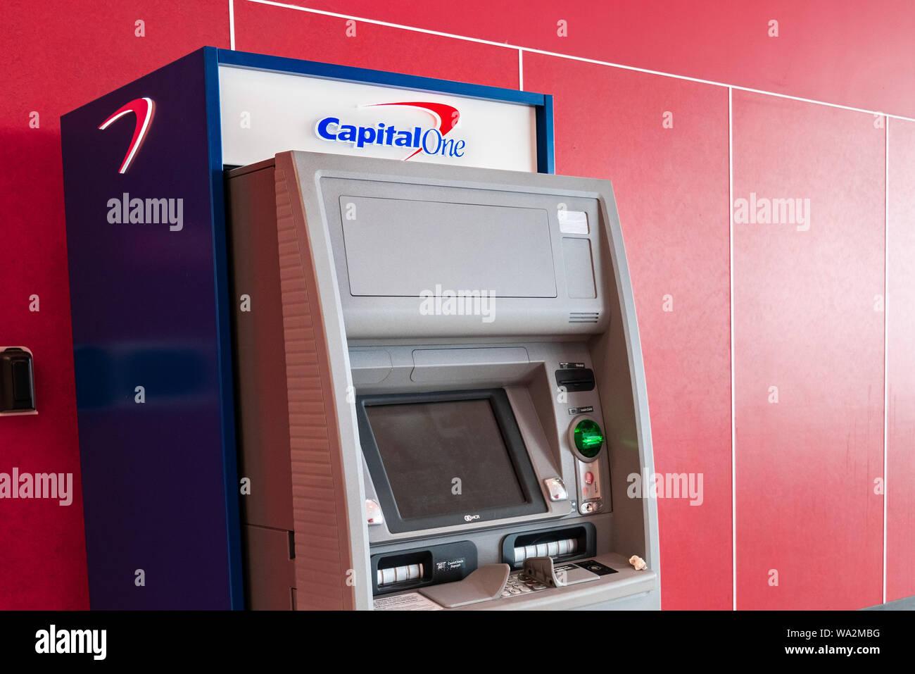 Bank America Atm Machine San Stockfotos und -bilder Kaufen - Alamy