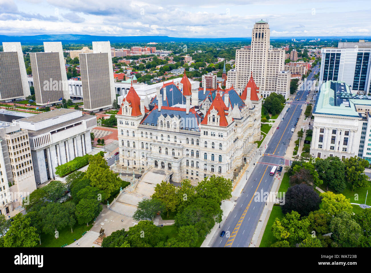 New York State Capitol, Albany, New York, USA Stockfoto
