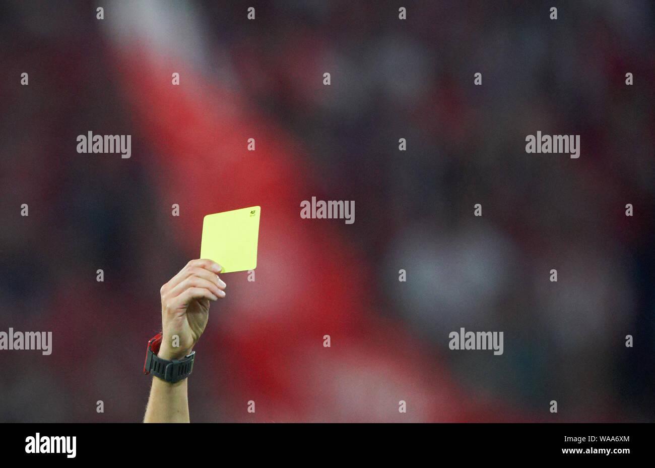 Symbol Illustration Funktion Schiedsrichter Zeigt Die