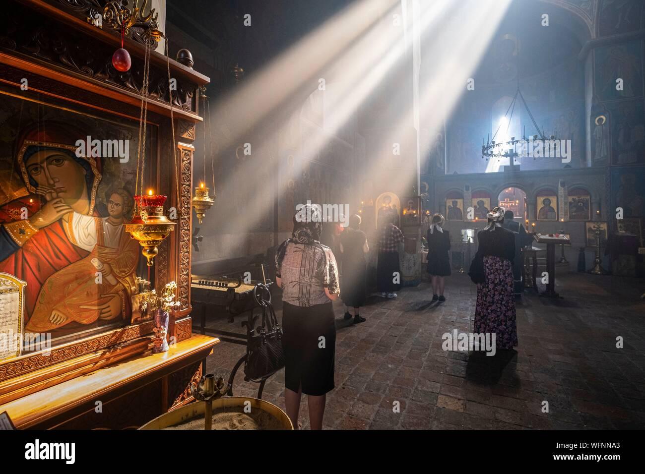 Georgien, Tiflis, Tiflis oder Dzveli Kalaki, Bethlehem Bezirk (oder Kldisoubani), Bethlehem Kirche Stockfoto