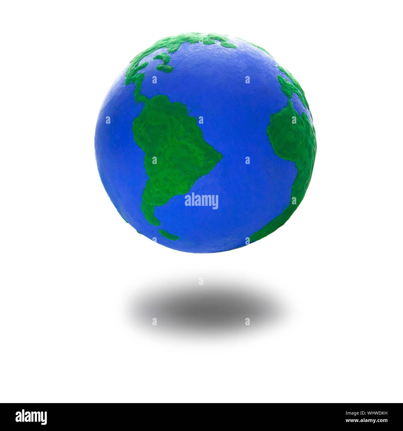Globus Karte.Earth Globus Karte Seite Des Nord Und Sudamerika Textur
