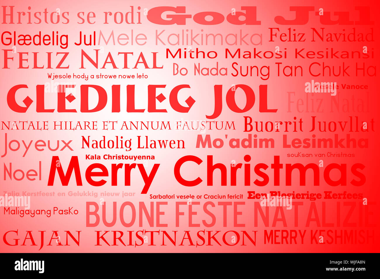 Frohe Weihnachten In Vielen Sprachen.Frohe Weihnachten Tag Cloud Mit Vielen Verschiedenen