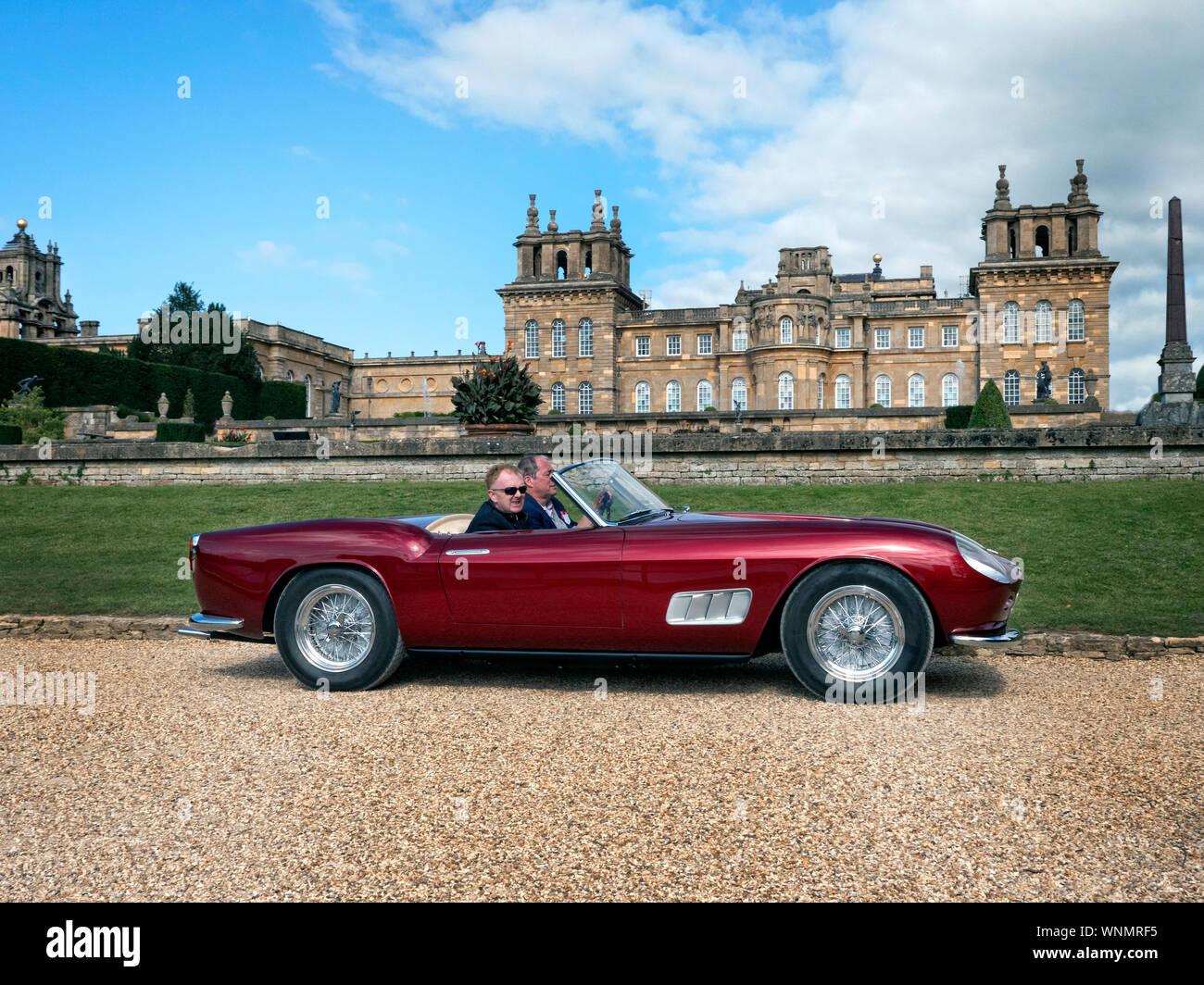 1957 Ferrari 250 Gt Lwb California Spyder Prototyp Im Salon Prive Blenheim Palace 2019 Stockfotografie Alamy