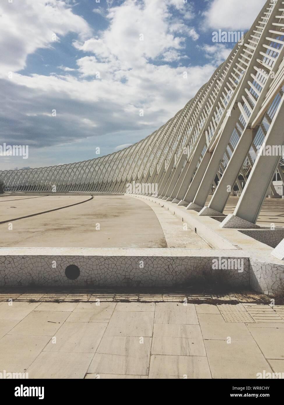 Moderne Struktur gebaut Stockfoto