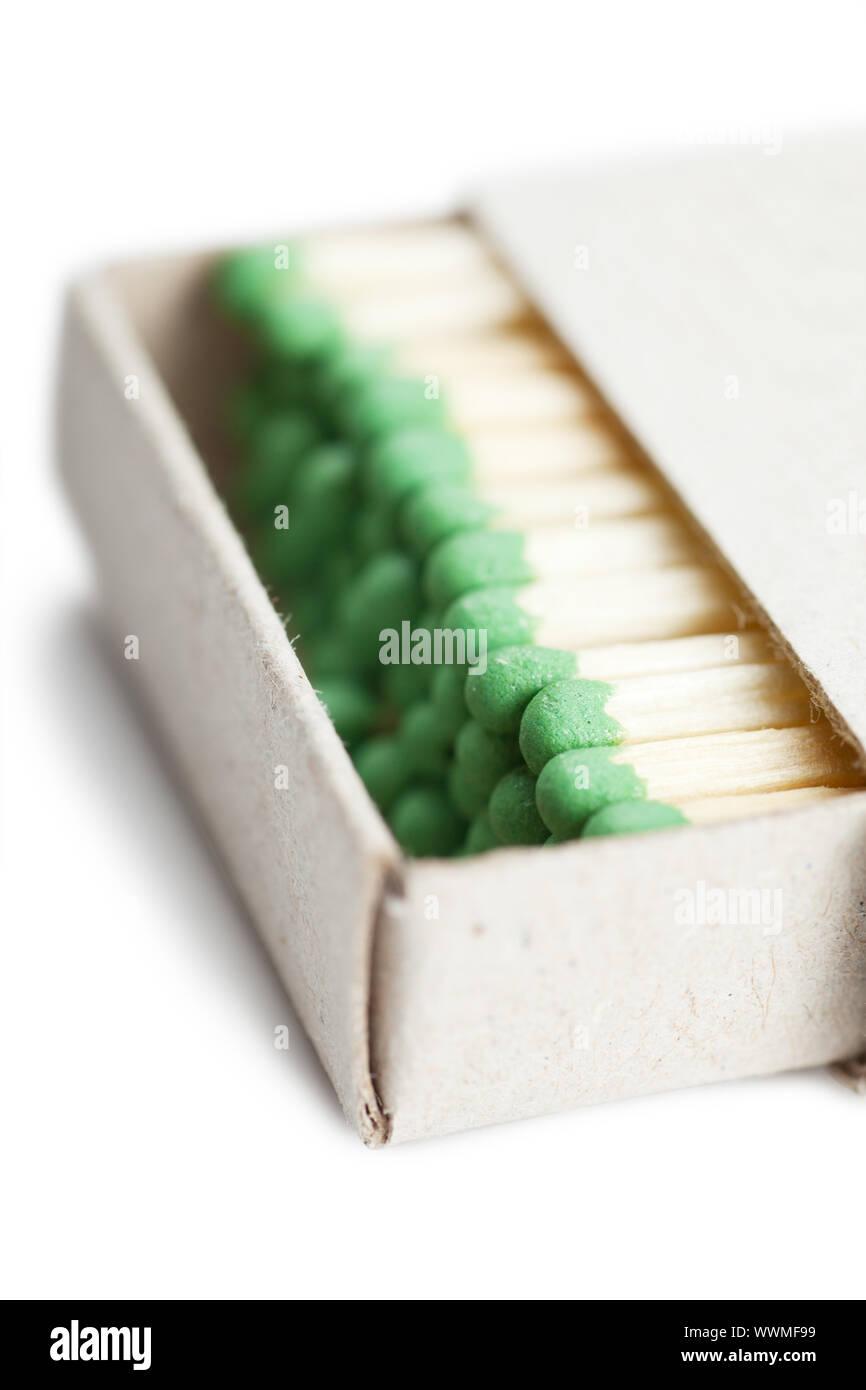 Spiele in einer Box zur Veranschaulichung Konzept des Zusammenhalts Stockfoto