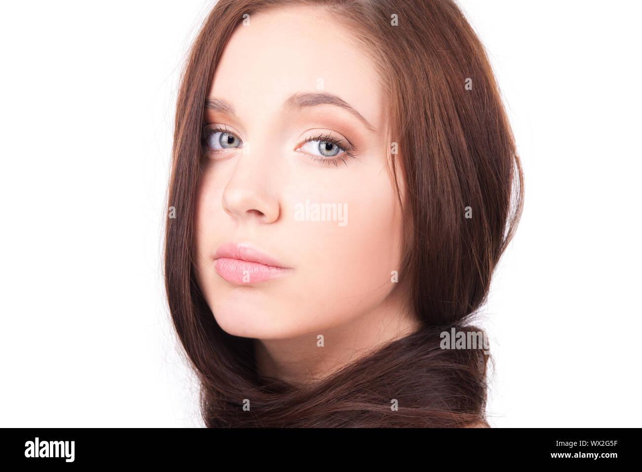 Braune haare mädchen 15 jahre hübsches Sunshine