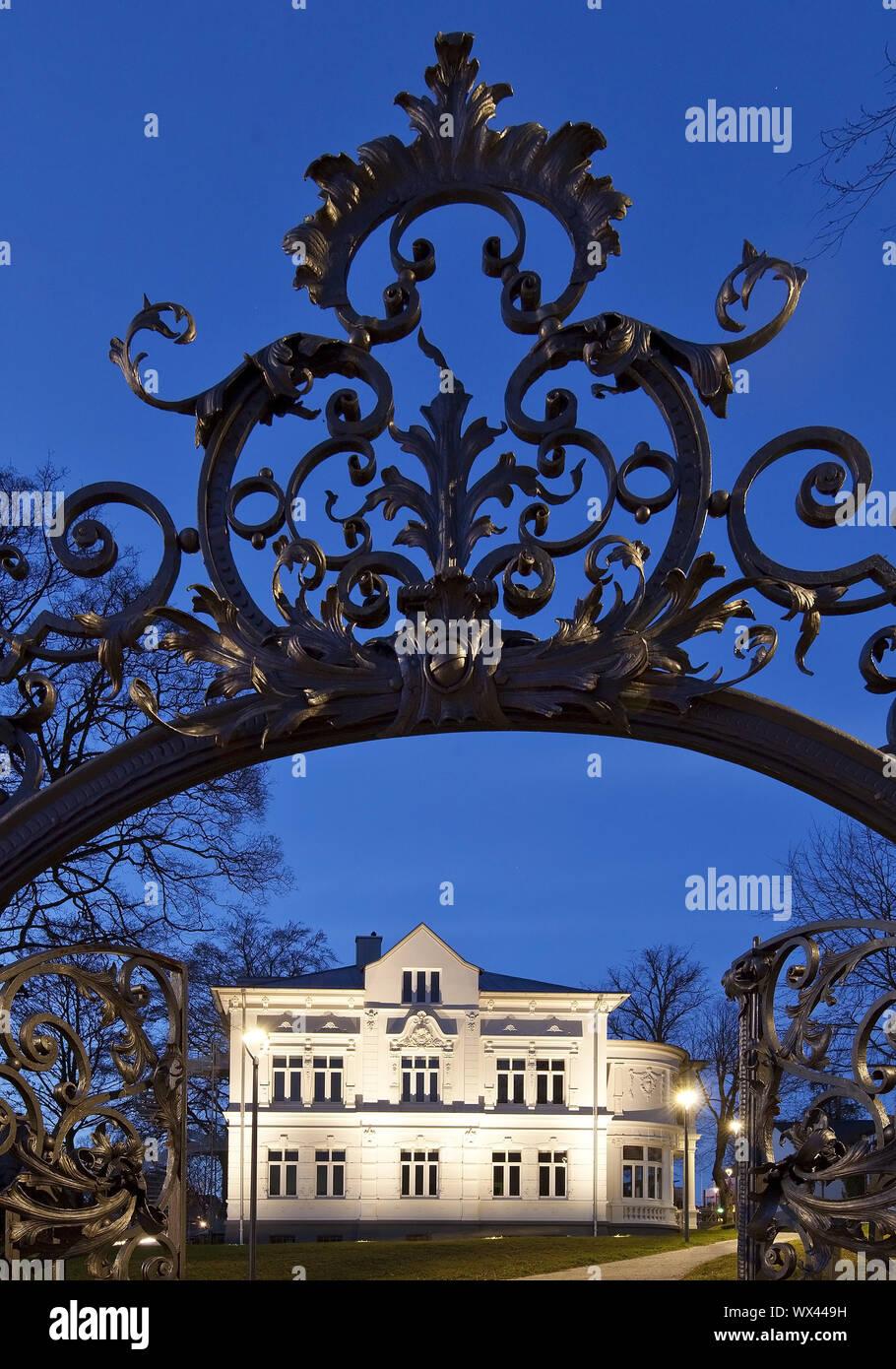 Villa Wippermann, regionale Heimatmuseum, Halver, Sauerland, Deutschland, Europa Stockfoto
