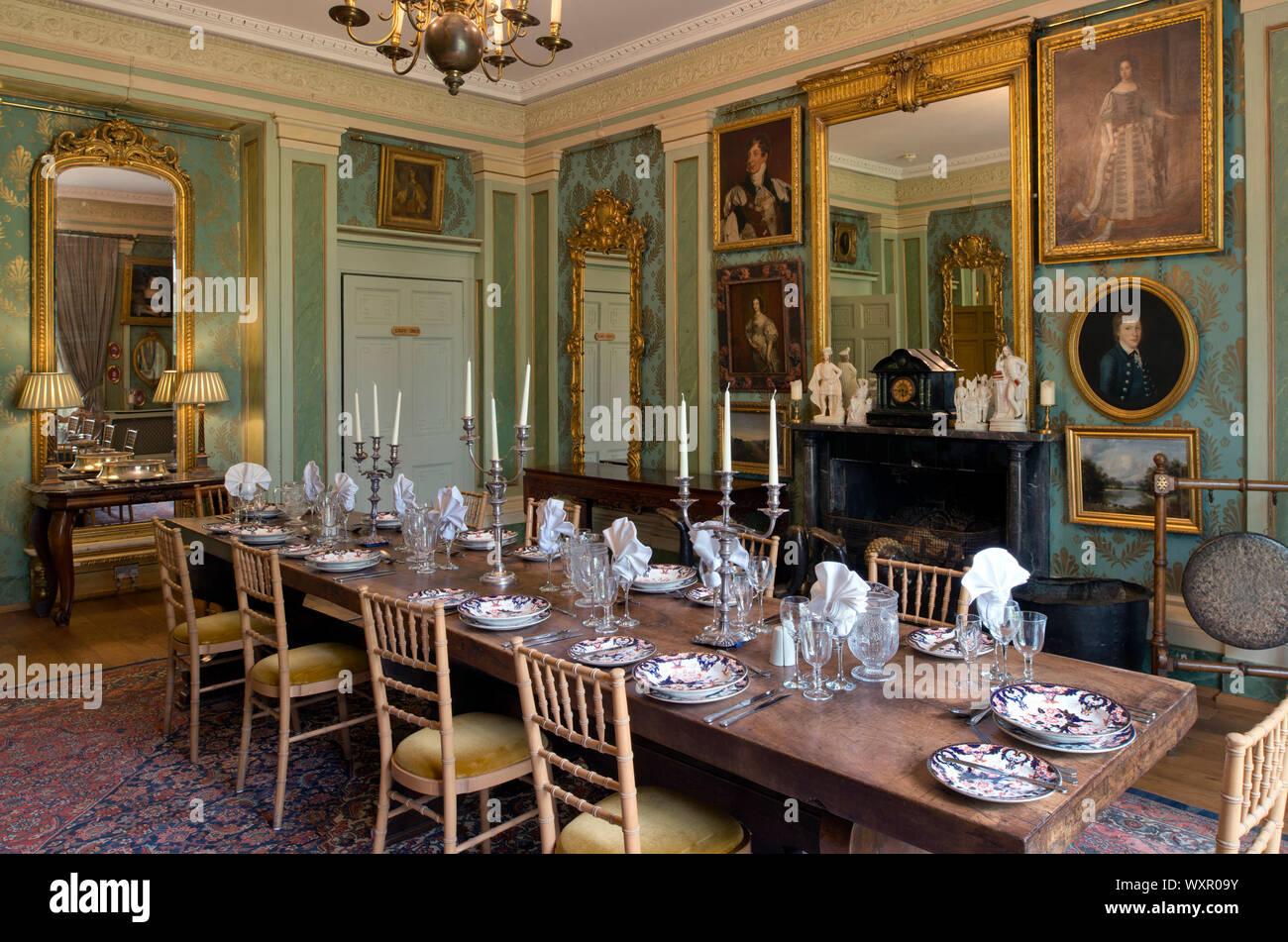 Von Sir Benjamin Slade, 7. baronet an seinem Haus, Maunsell Haus, Bridgwater, Somerset, Großbritannien Stockfoto
