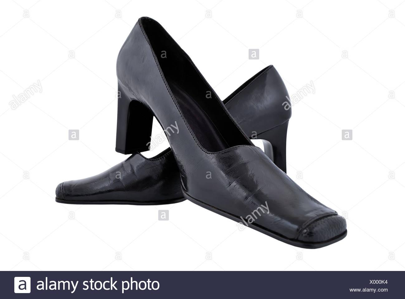 4400e479b4ec schwarze Damenschuhe Stockfoto, Bild  275366424 - Alamy