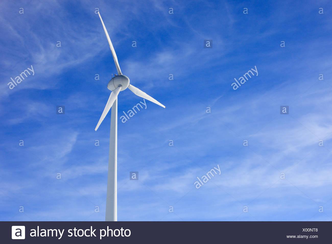 Alternative Energien, Andermatt, Energie, Himmel, Natur, Naturschutz, Rad, Schweiz, Europa, Energie, Strom, Umwelt Stockbild