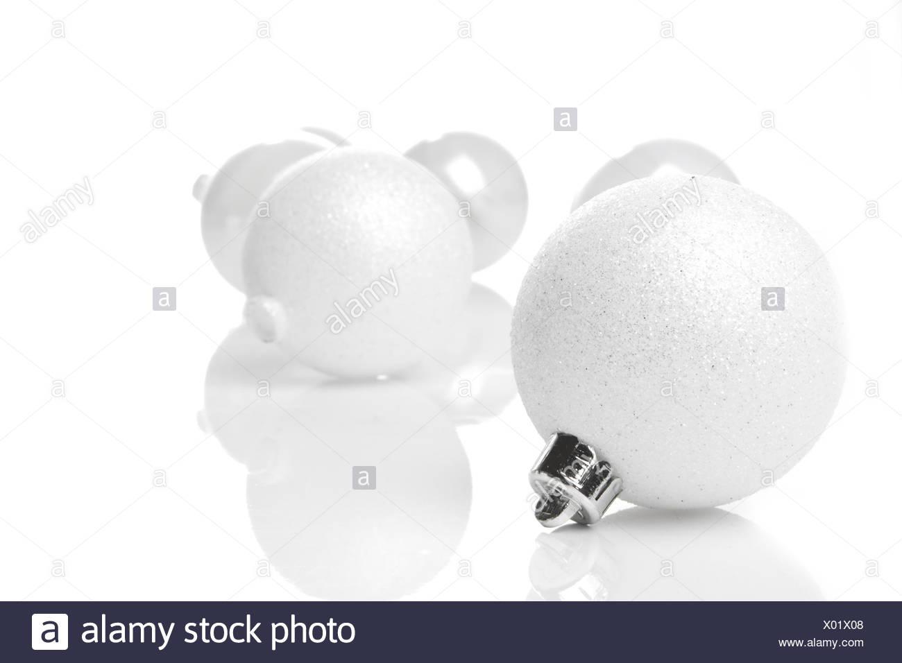 Weihnachtskugeln Weiß.Weihnachten Weihnachtskugeln Weiß Stockfoto Bild 275408232 Alamy
