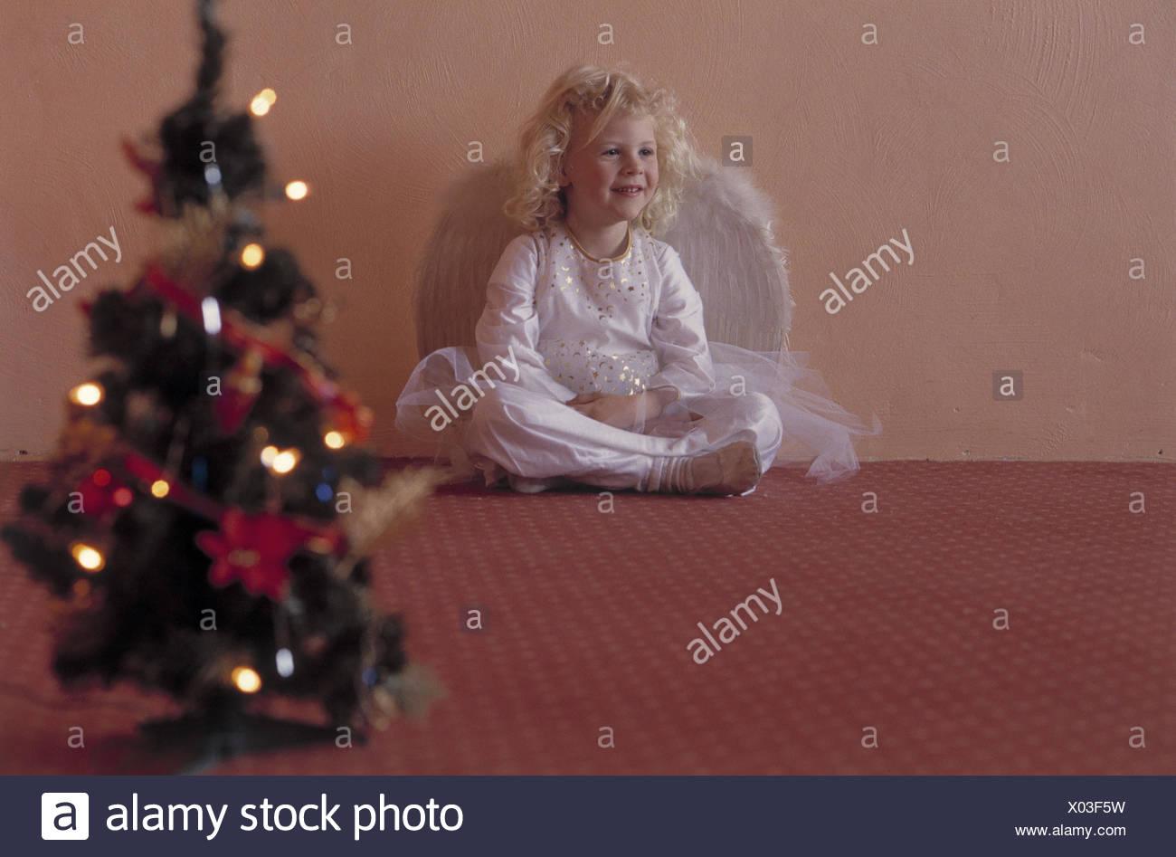 Weihnachten Heiligabend Weihnachtsengel Weihnachtsbaum