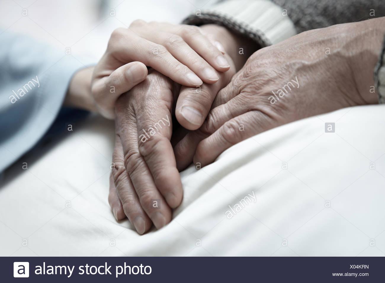 Pflege Stockbild