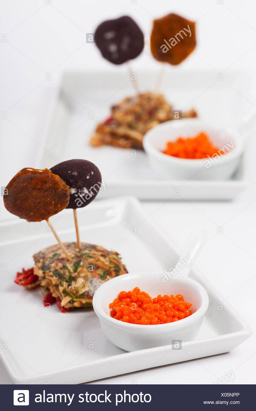 Molekulare Küche | Molekulare Kuche Gericht Auf Teller Stockfoto Bild 275492750 Alamy
