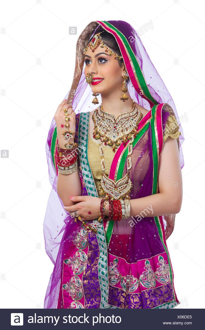 Indian Bride Stockfotos & Indian Bride Bilder - Alamy