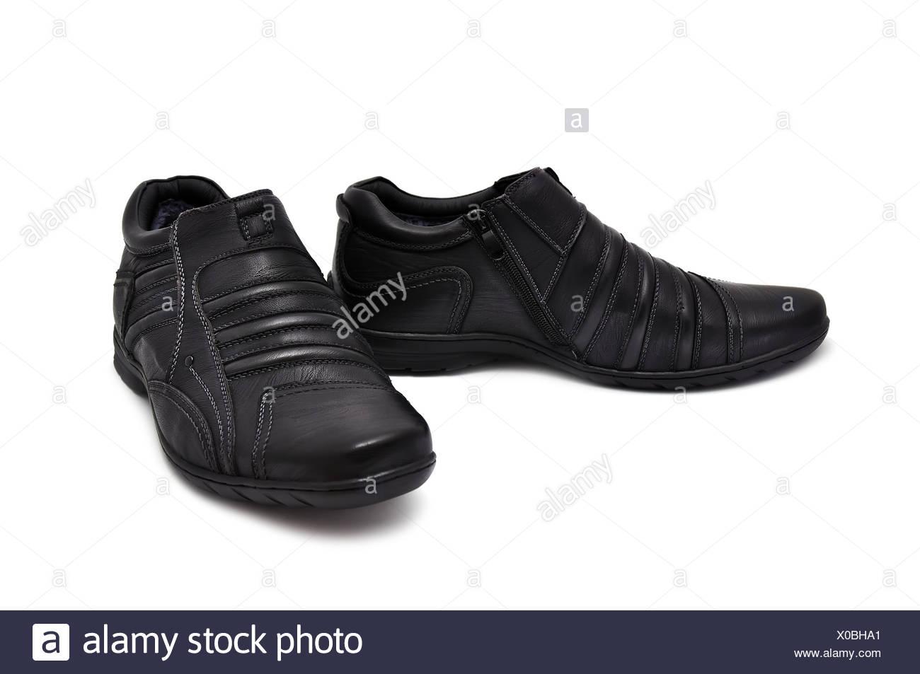 isolierte Stiefel Stockbild