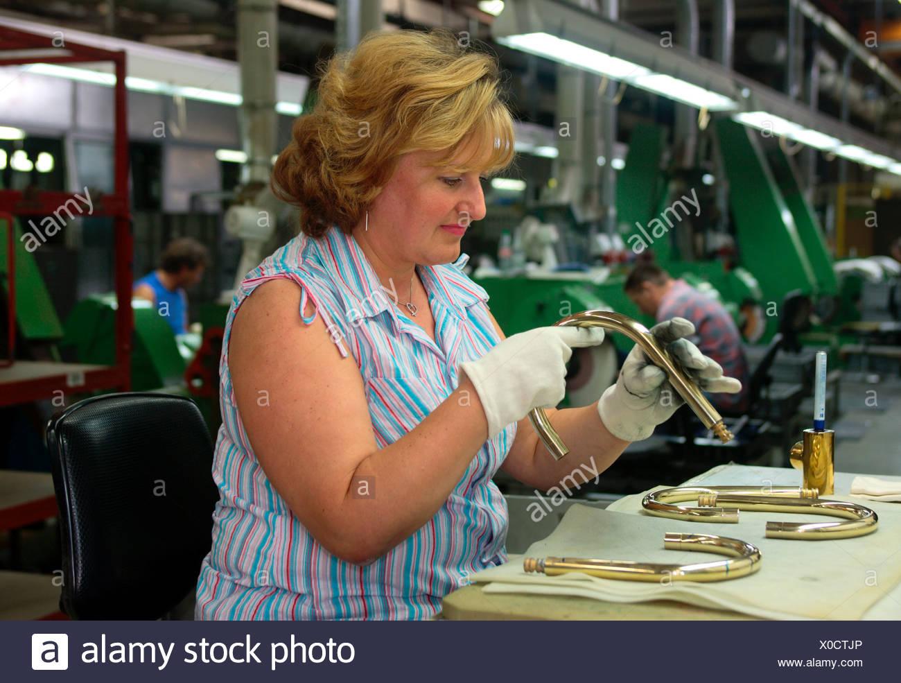 Armaturenhersteller Dornbracht In Iserlohn Stockfoto Bild