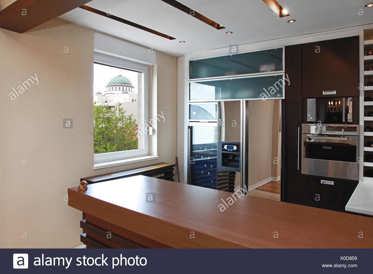 Küche-Bar Stockfoto, Bild: 275657685 - Alamy