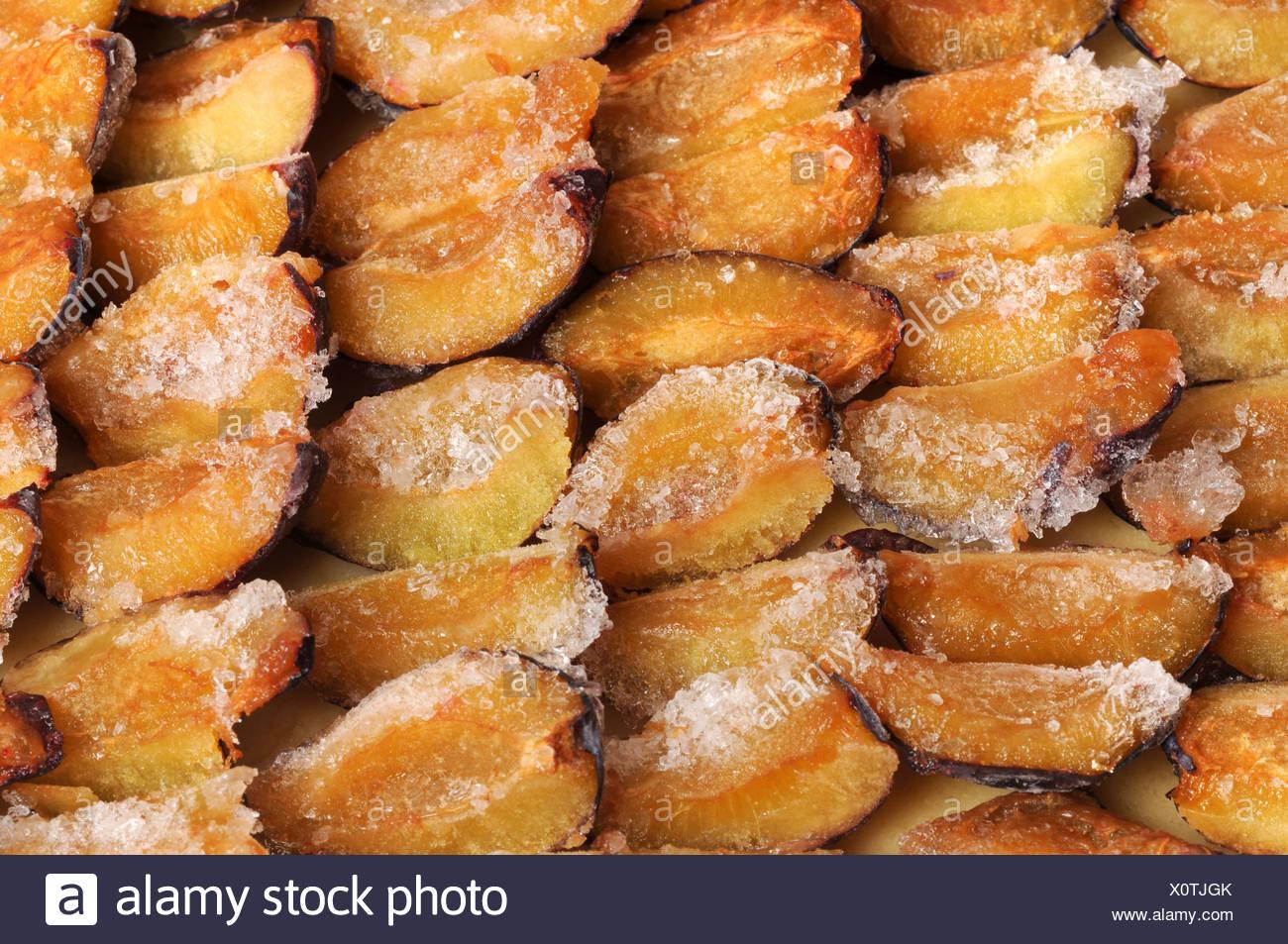 Pflaume Pflaumen Torte Gefrorene Kuchen Kuchen Backen Pflaume
