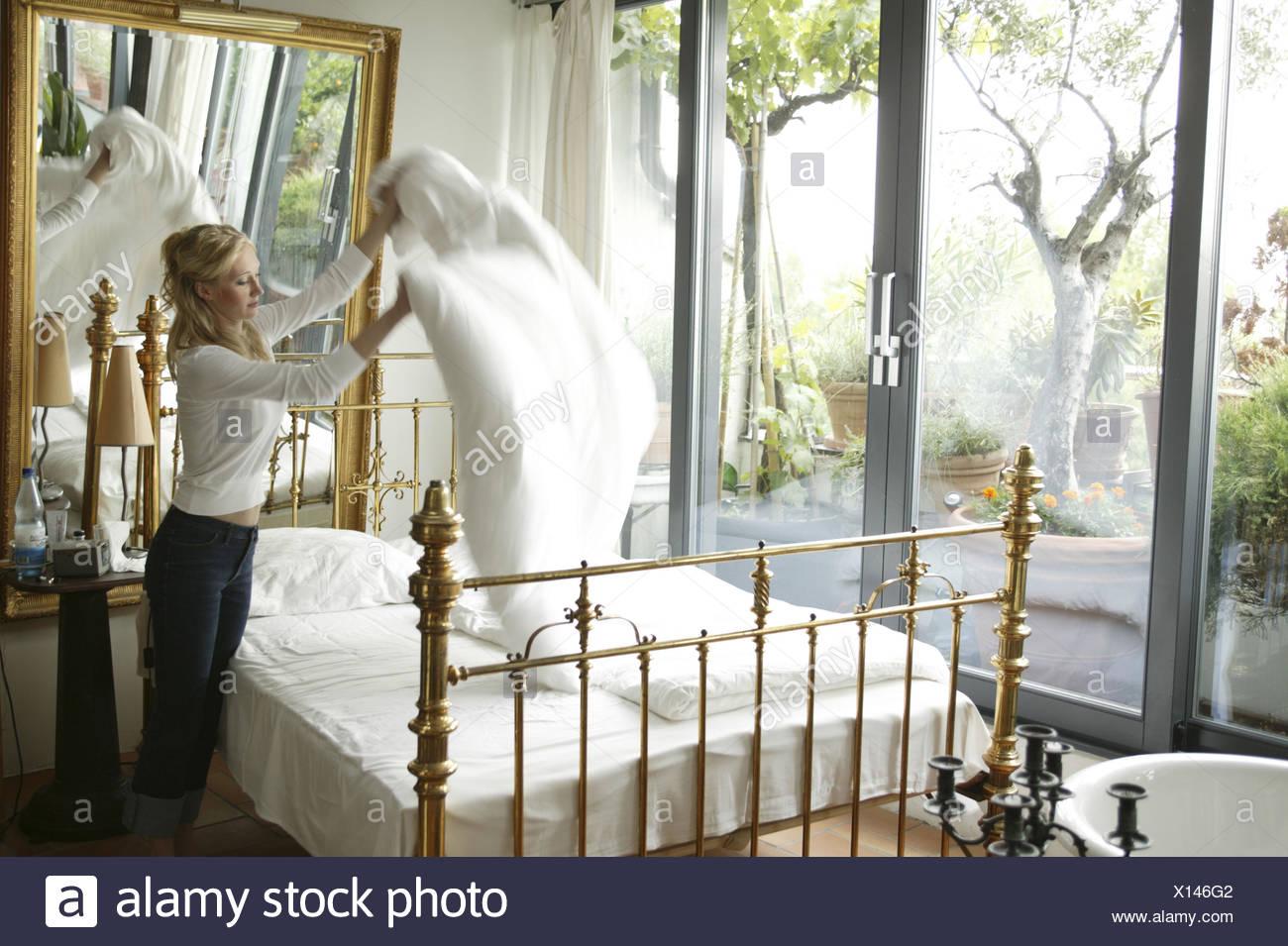 Brass Bed Stockfotos & Brass Bed Bilder - Alamy