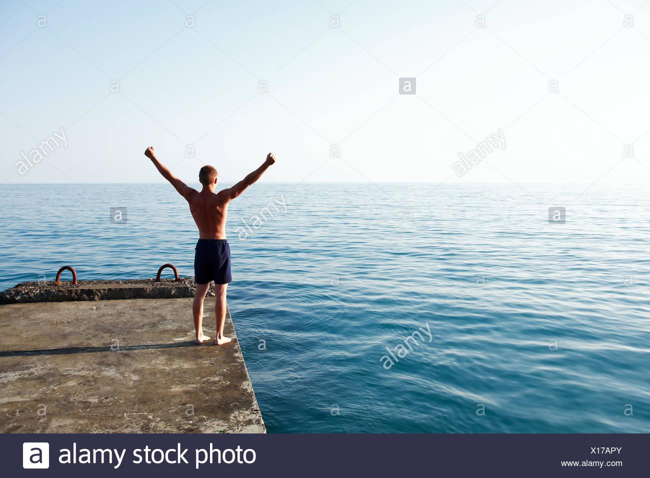 Guten Morgen Meer Stockfoto Bild 276142691 Alamy