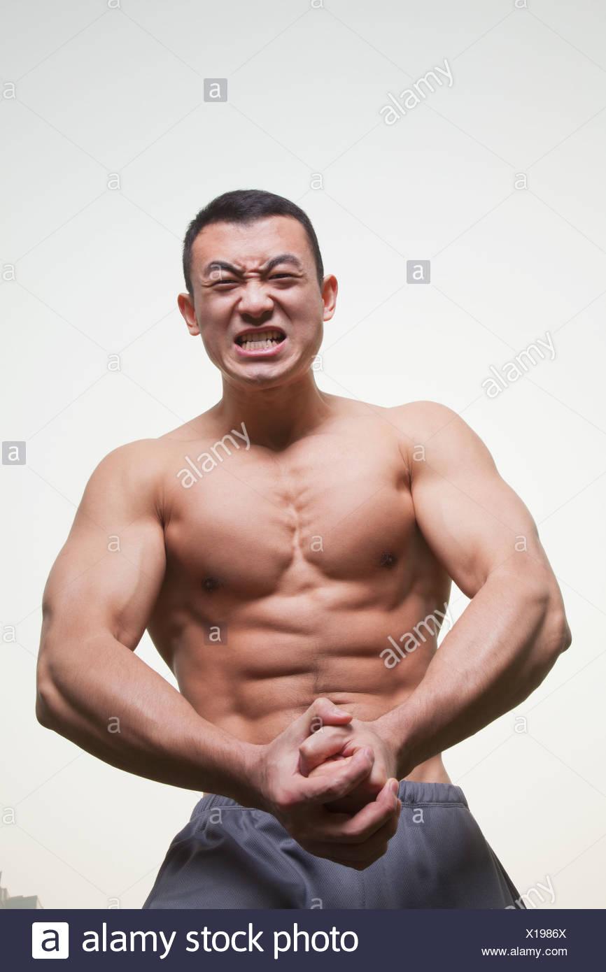 Männer nackte muskulöse Männer