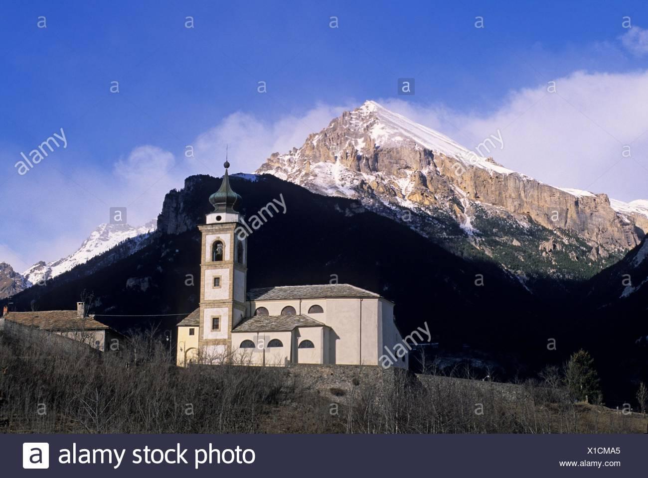 Hautes Alpes Departement Provence Alpes Cote Stockfotos Hautes
