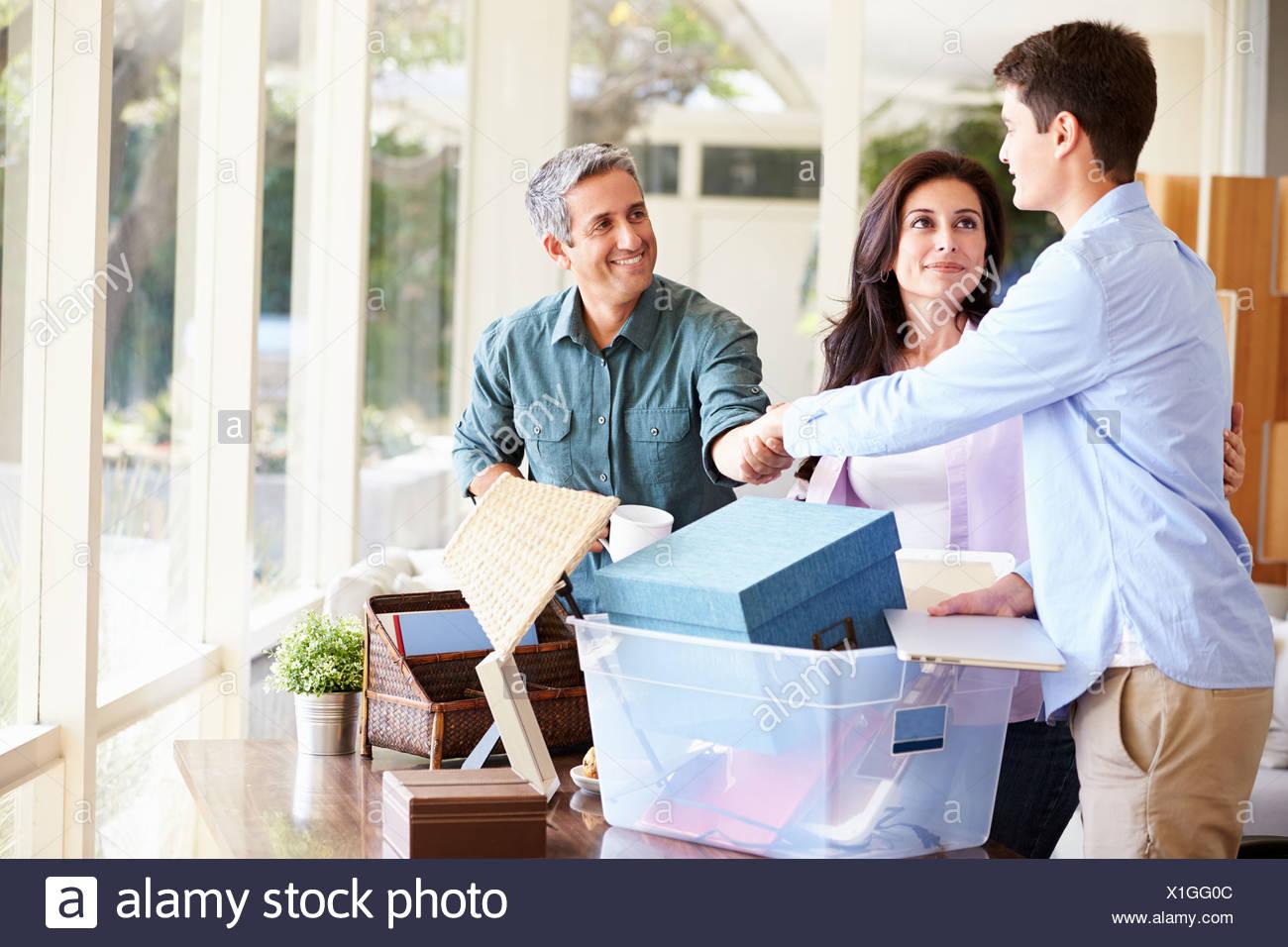 parents stockfotos parents bilder alamy. Black Bedroom Furniture Sets. Home Design Ideas