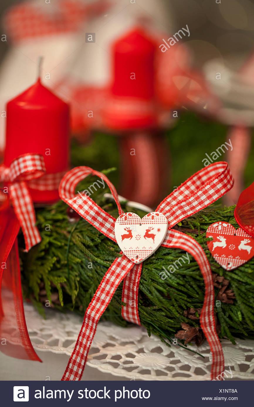 Advent Christmas Candles Stockfotos & Advent Christmas Candles ...