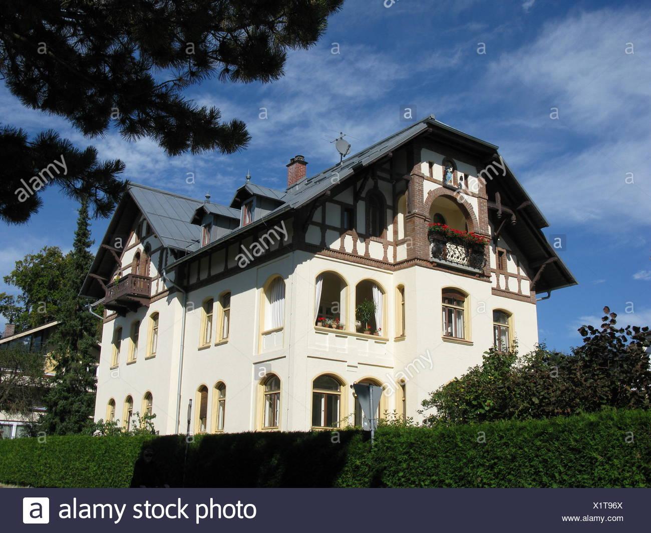 Haus in Tutzing am Starnberger See Stockfoto, Bild: 276514642 - Alamy