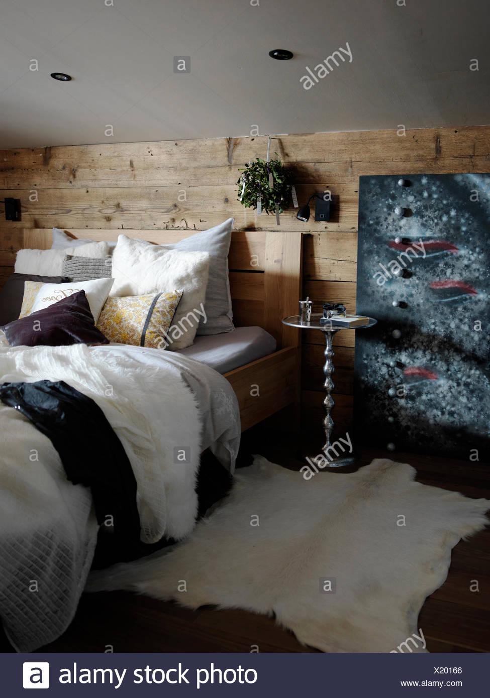 Bett Kopfteil Schlafzimmer Wand Hinter Dem Bett Caseconrad Com