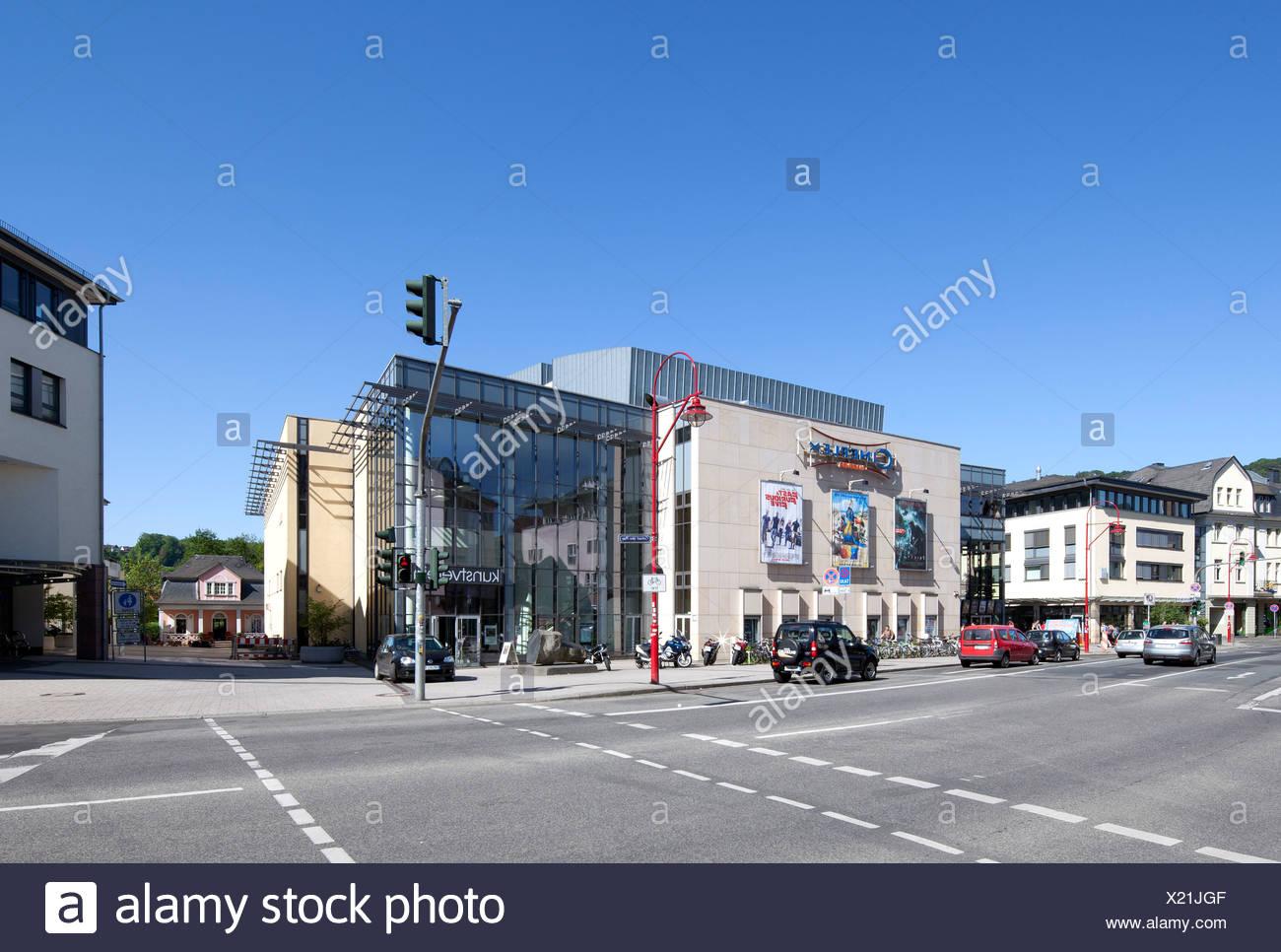 Marburger Kunstverein-Kunstverein, Cineplex Kino, Marburg, Hessen, Deutschland, Europa, PublicGround Stockbild