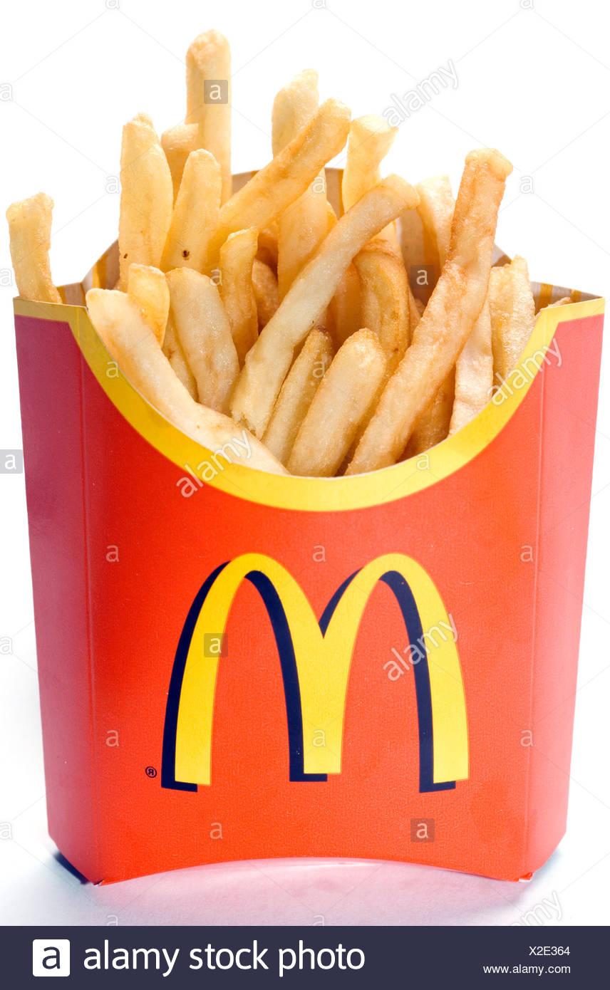mittlere pommes mcdonalds