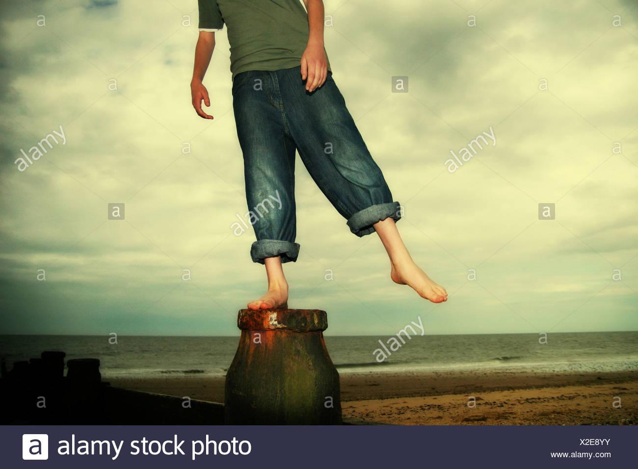 Balance 2 Stockbild