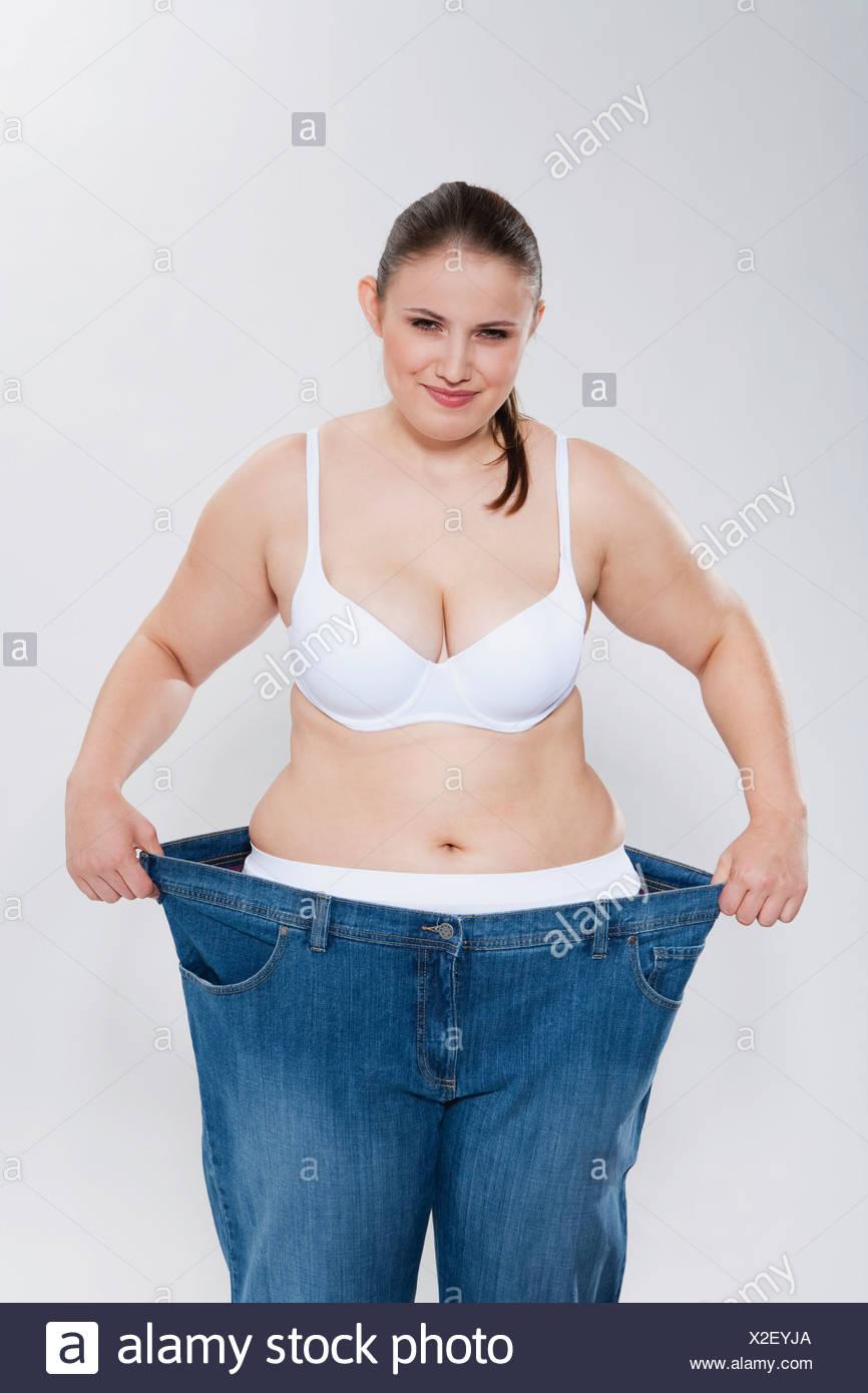 Vollschlanke Frau