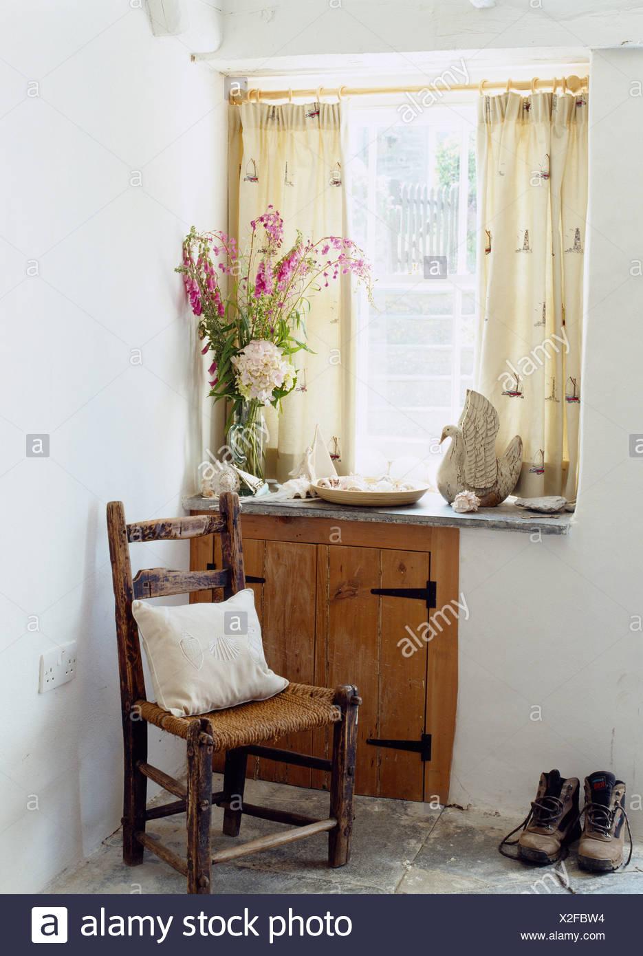 Niedlich Hütte Küche Vorhänge Fotos - Küchenschrank Ideen ...