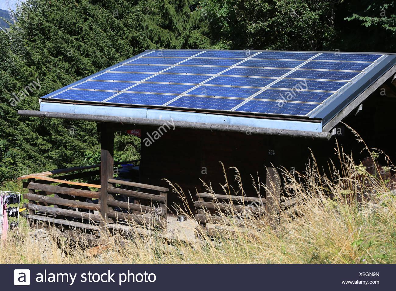 Beautiful Thermische Solar Panel. Stockbild