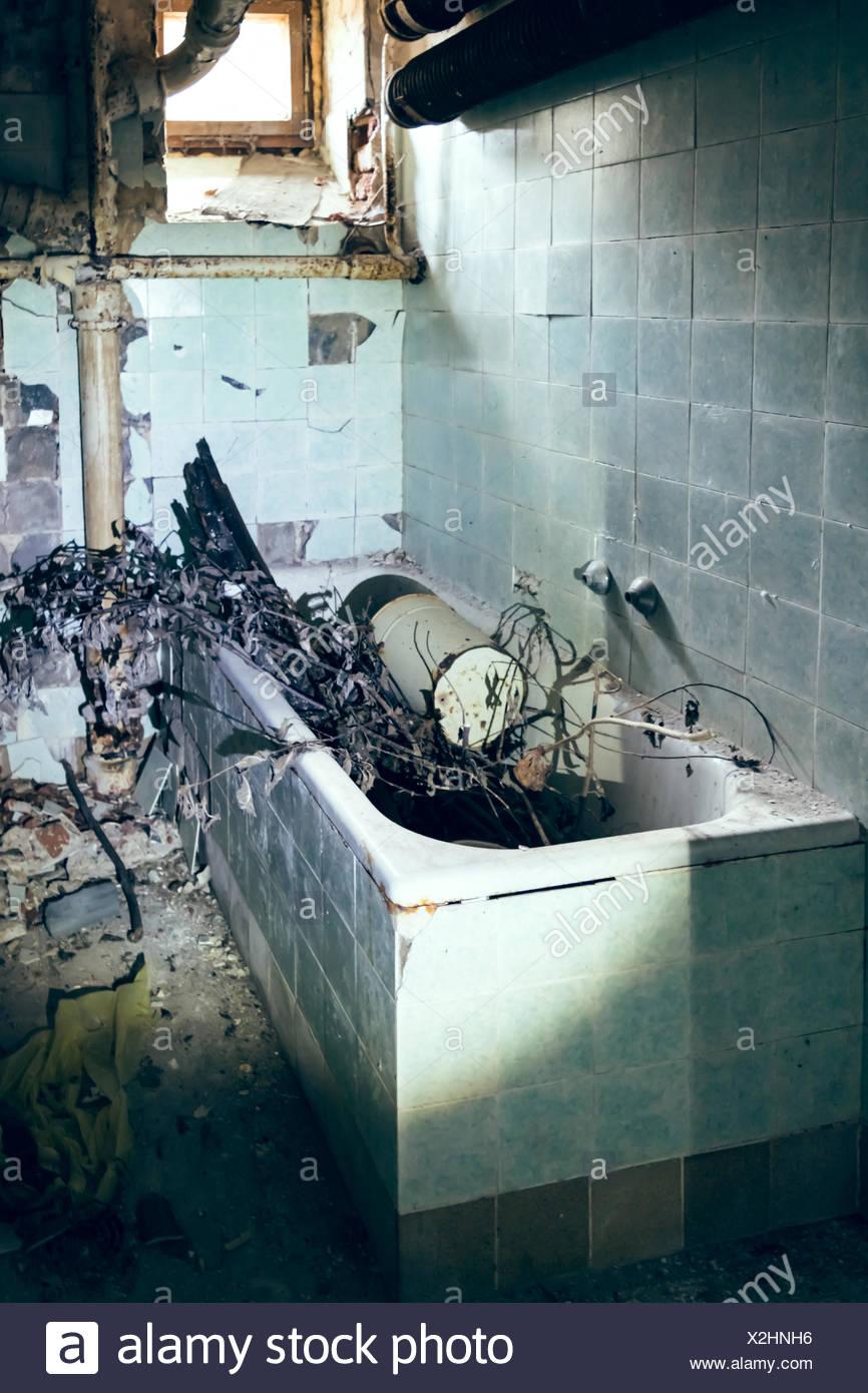 Horror Badewanne Stockfotografie Alamy