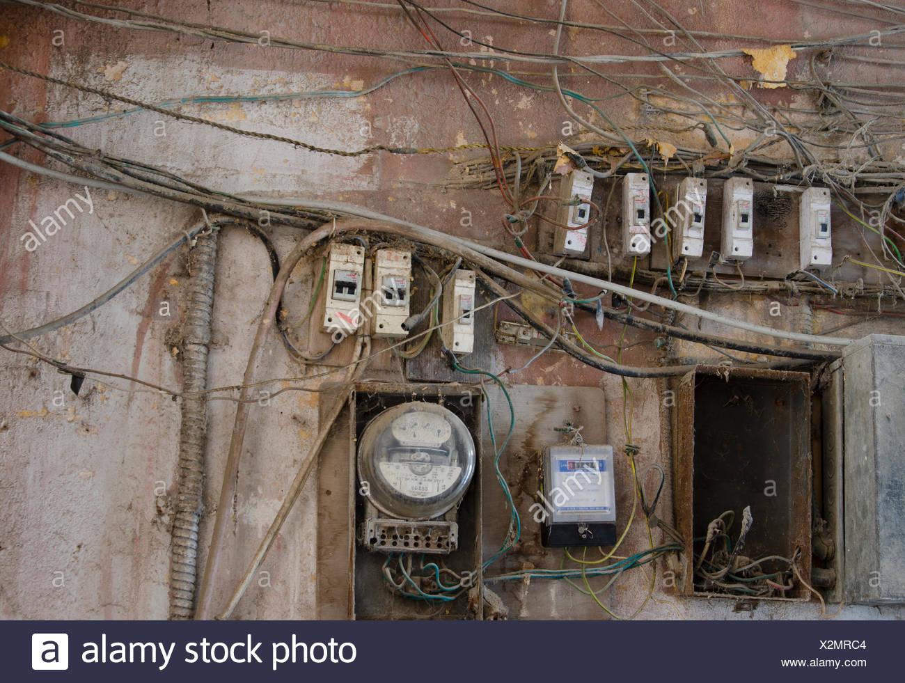 Wiring Electrical Stockfotos & Wiring Electrical Bilder - Alamy