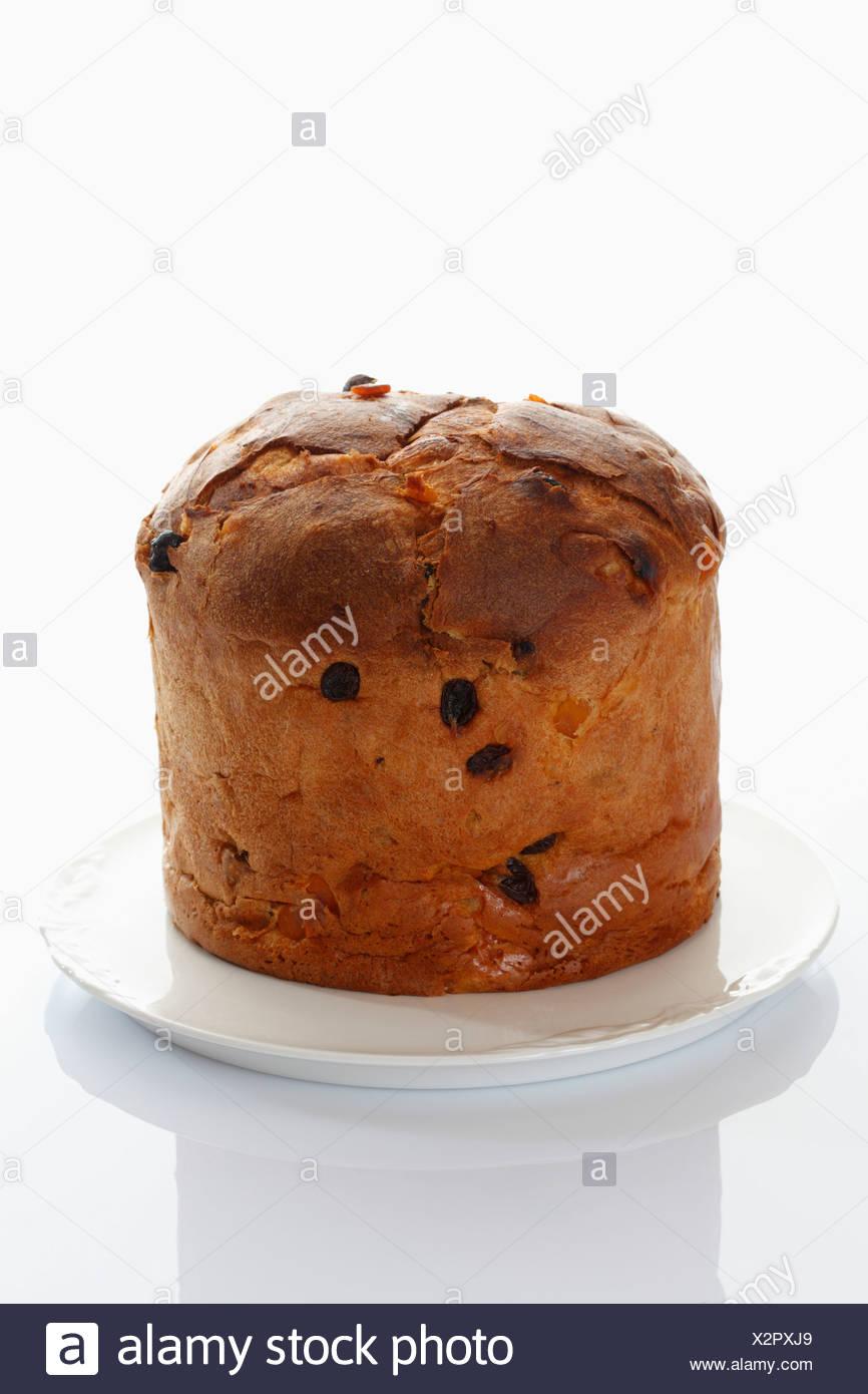 Panettone Italienische Kuchen Stockfoto Bild 277099041 Alamy