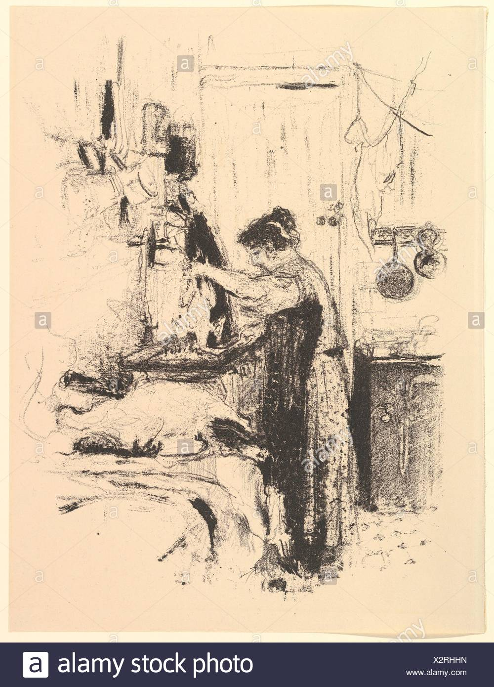Cuisine Artise | La Flambee Platte 5 Von La Cuisine Artist Edouard Vuillard