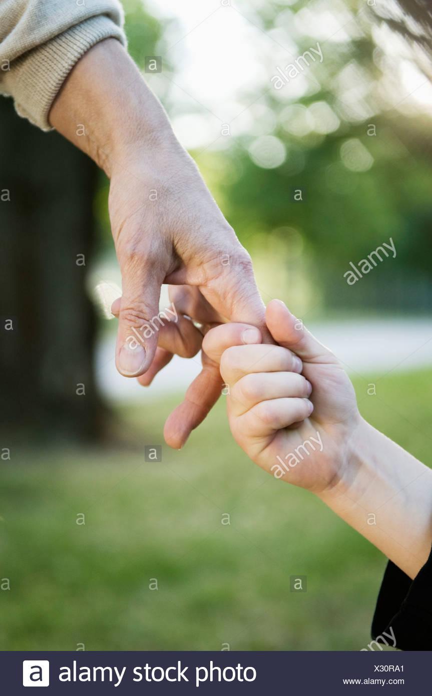 Halten Hände Stockbild