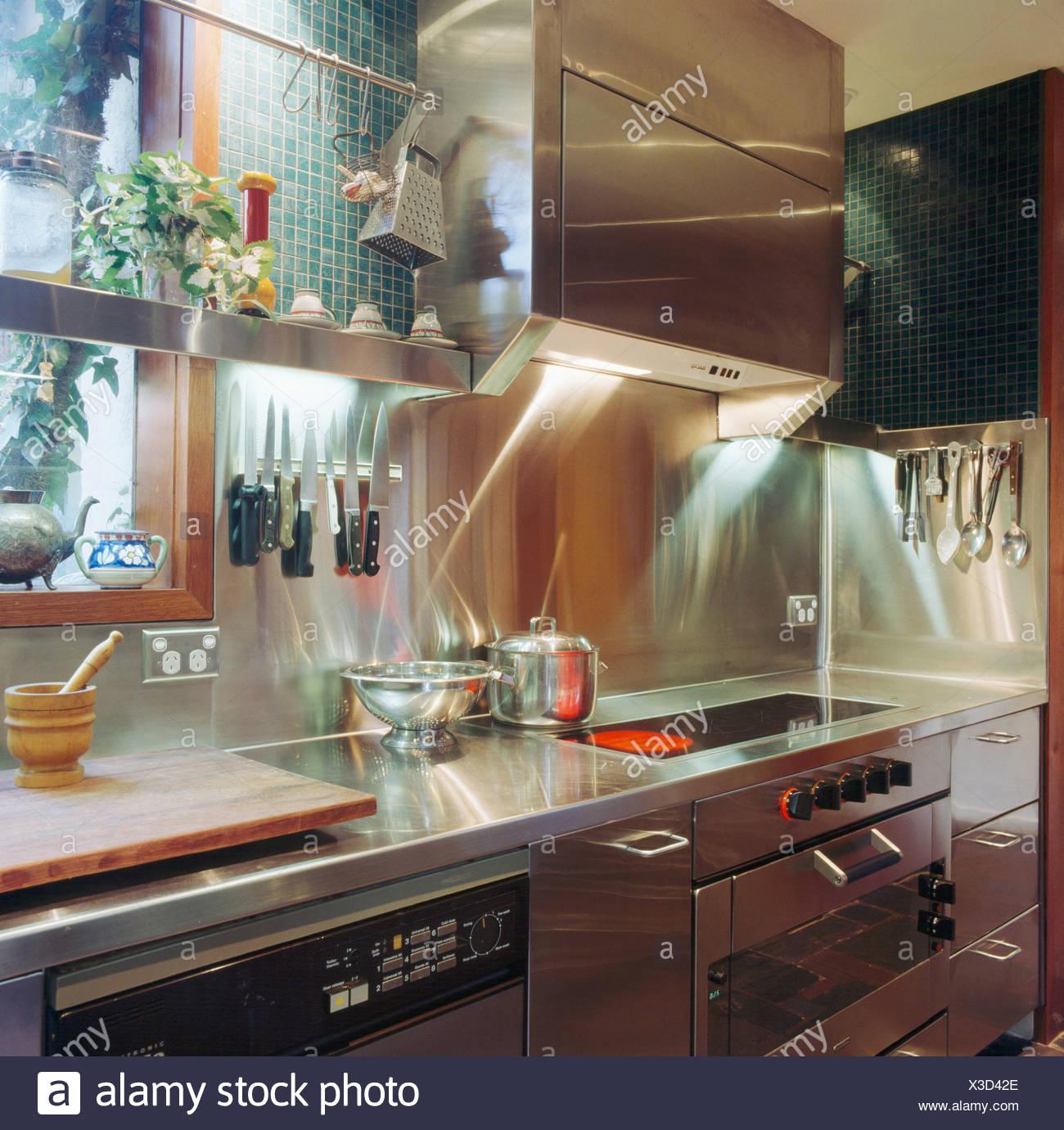 Kitchen Hob Details Stockfotos & Kitchen Hob Details Bilder - Alamy
