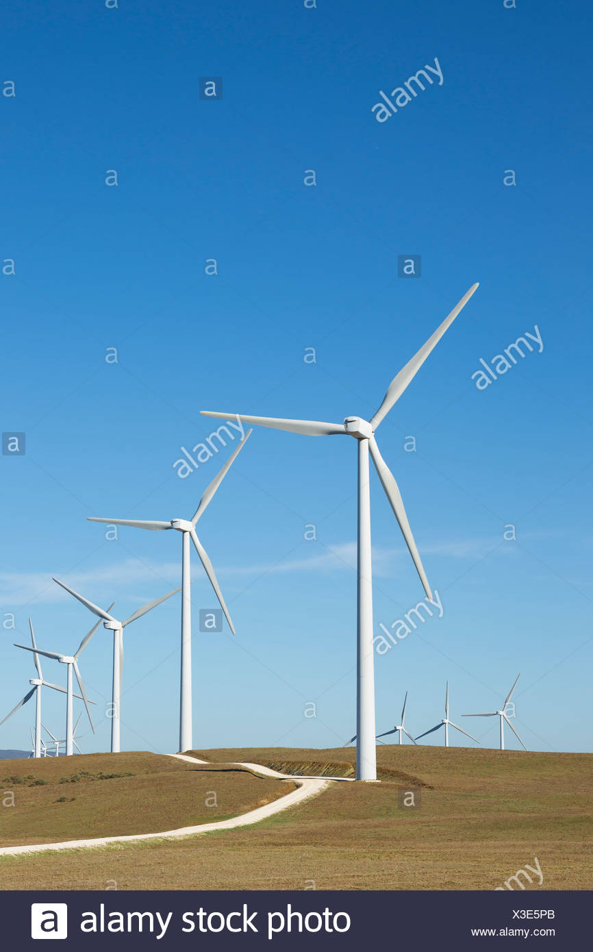 Windpark Stockbild