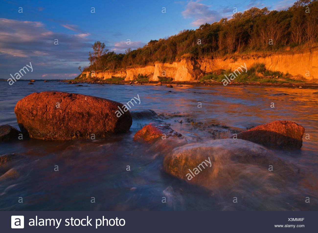 Insel Poel, Ostsee, Küste, Stockbild