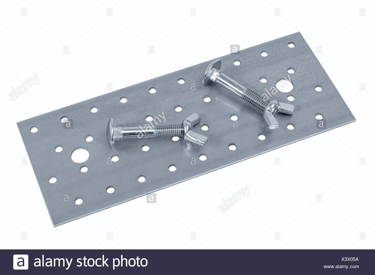 Lochblech Mobel Schrauben Und Muttern Stockfoto Bild 277780758 Alamy