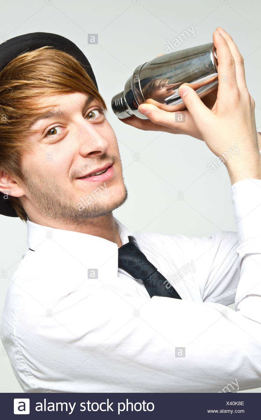 Barkeeper Stockbild